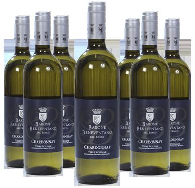 Chardonnay DOC Sicilia Vini Beneventano Del Bosco