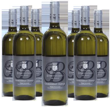 Inzolia Chardonnay DOC Sicilia Vini Beneventano Del Bosco