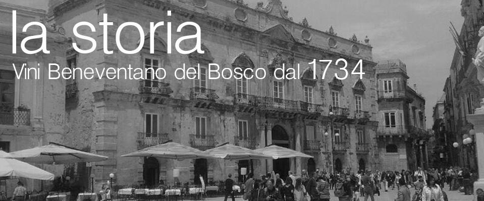 Vini Beneventano Del Bosco La Storia