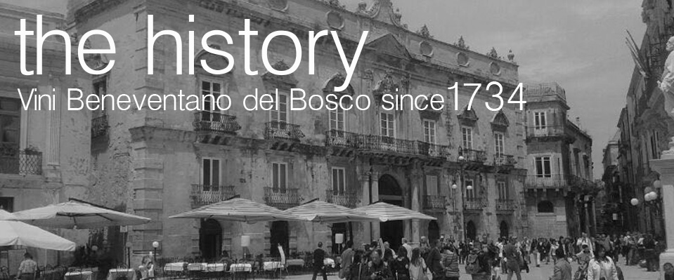 Vini Beneventano Del Bosco The History